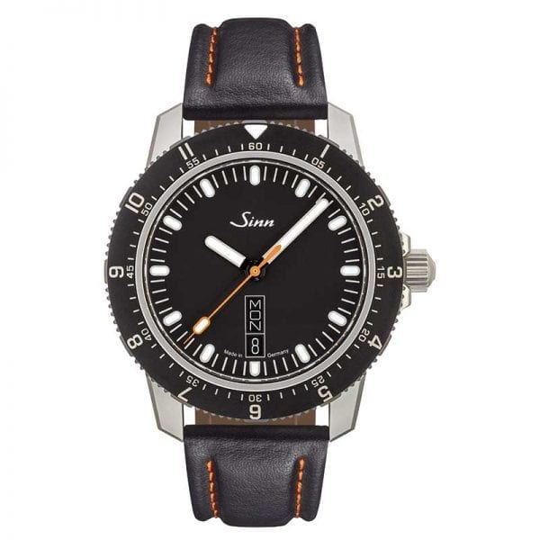 Sinn Sports Watch 105 St Sa on Leather Strap. Authorized Canadian Retailer for Sinn Watches