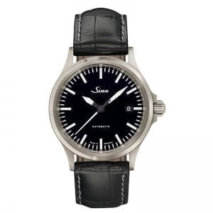 Sinn Watch 556 I on Black Leather Strap. Authorized Canadian Retailer for Sinn Watches.