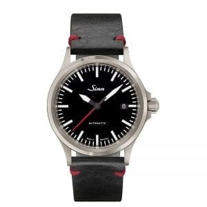 Sinn Sport Watch 556 I RS on Leather Strap. Authorized Canadian Retailer for Sinn Watches.