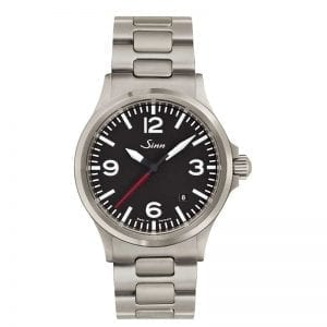 Sinn Watches 556 A RS on H-Link Metal Bracelet. Authorized Canadian Retailer for Sinn Watches.